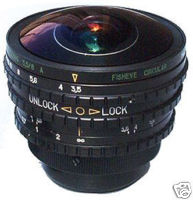 Fisheye Peleng 3.5/8AC Canon EOS 300D 350D 20D 10D etc